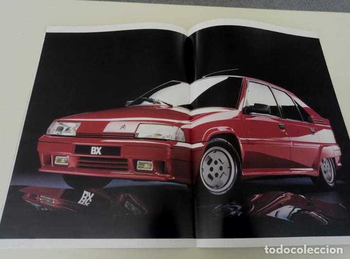 Coches: Catálogo original de Citroën BX de 32 págs. a todo color. - Foto 7 - 208004520