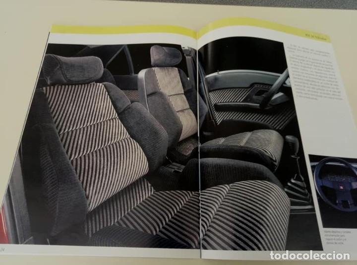 Coches: Catálogo original de Citroën BX de 32 págs. a todo color. - Foto 8 - 208004520