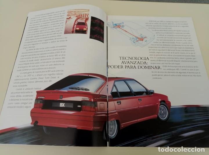 Coches: Catálogo original de Citroën BX de 32 págs. a todo color. - Foto 9 - 208004520