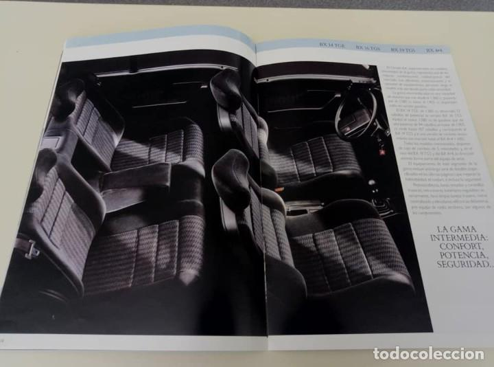 Coches: Catálogo original de Citroën BX de 32 págs. a todo color. - Foto 10 - 208004520