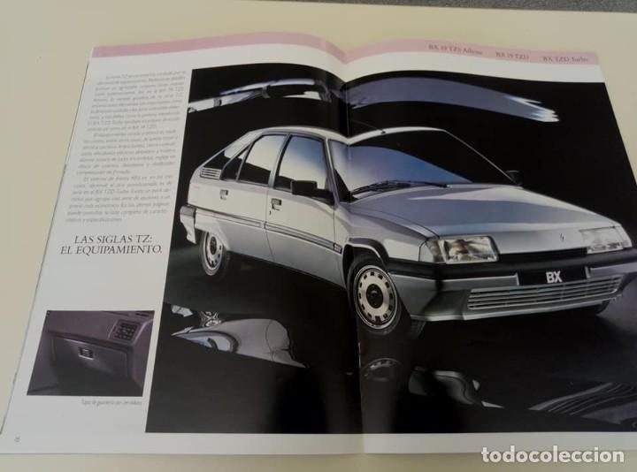 Coches: Catálogo original de Citroën BX de 32 págs. a todo color. - Foto 11 - 208004520