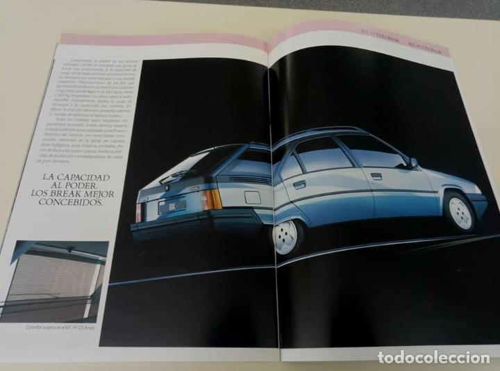 Coches: Catálogo original de Citroën BX de 32 págs. a todo color. - Foto 12 - 208004520