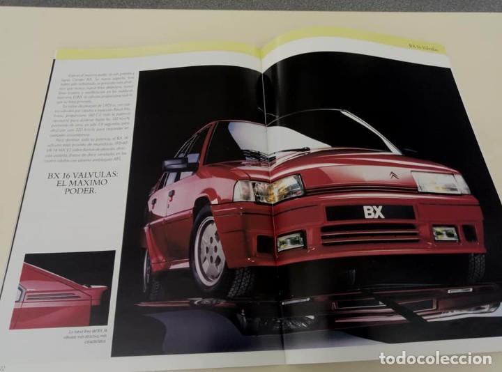 Coches: Catálogo original de Citroën BX de 32 págs. a todo color. - Foto 13 - 208004520