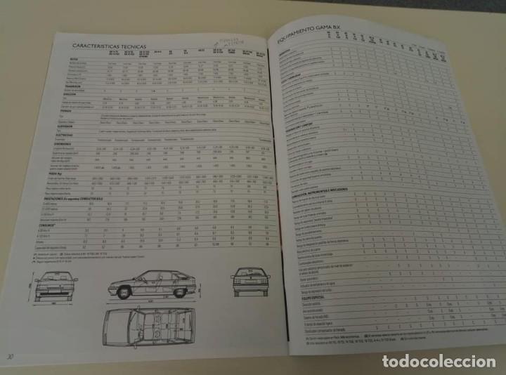 Coches: Catálogo original de Citroën BX de 32 págs. a todo color. - Foto 14 - 208004520
