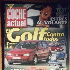 Coches: COCHE ACTUAL - MARZO 1998 Nº 515 - FORD SCORT, ROVER 216, NISSAN ALMERA. Lote 209722777