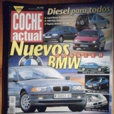 Coches: COCHE ACTUAL - SEPTIEMBRE 1998 Nº 542 - LAND ROVER FREELANDER DI 3P, TOYOTA AVENTIS. Lote 209744921