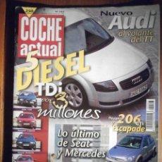 Coches: COCHE ACTUAL - SEPTIEMBRE 1998 Nº 543 - ALFA 156, ROVER 420, OPEL VECTRA. Lote 209749167