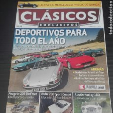 Coches: REVISTA MOTOR CLASICO 83- BMW 700- AUSTIN HEALY 100 -. Lote 209794393