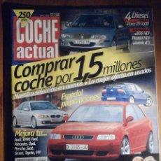 Coches: COCHE ACTUAL - MARZO 2000 Nº 622 - ROVER 25 2.0D, SCENIC DTI, PICASSO HDI. Lote 209959146
