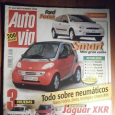 Coches: AUTO VÍA - AUTOVIA - SEPTIEMBRE 1998 Nº 101 - HYUNDAI SONATA, LANCIA DIALOGOS. Lote 209963846