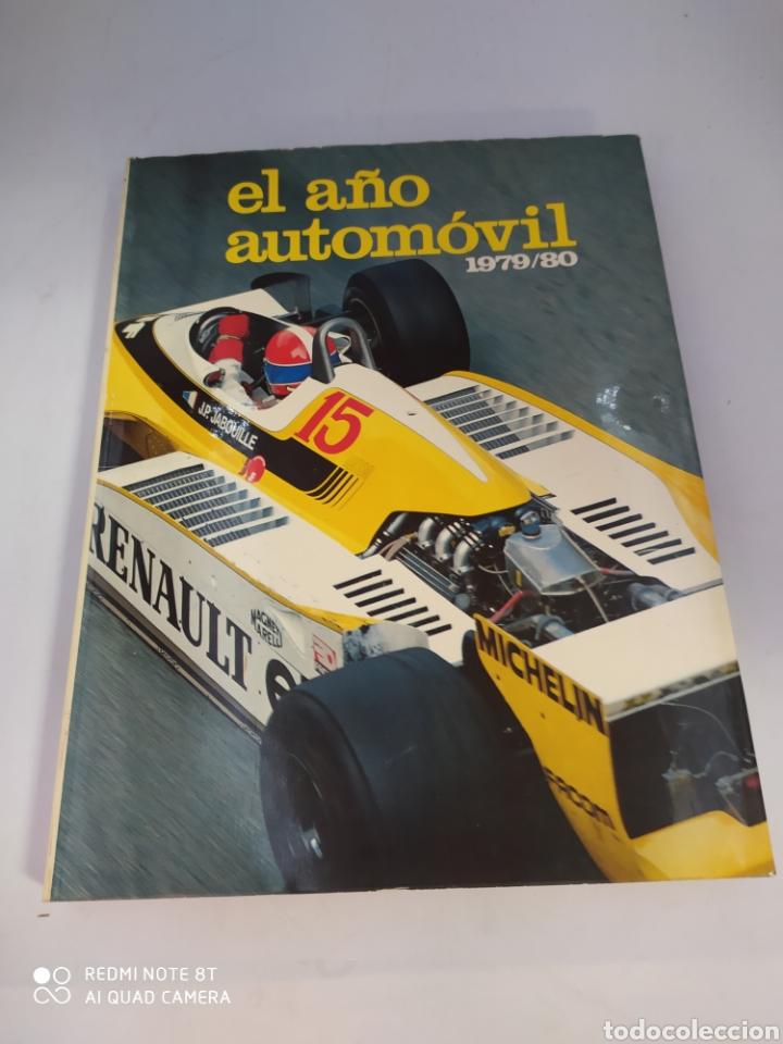 EL AÑO AUTOMÓVIL 1979/80 EDITA EDISPORT (Coches y Motocicletas Antiguas y Clásicas - Revistas de Coches)