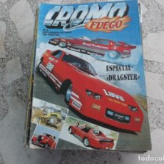 Coches: REVISTA DE COCHES Y MOTOS ,CROMO & FUEGO Nº 3, ESPECIAL DRAGSTER. Lote 210559743