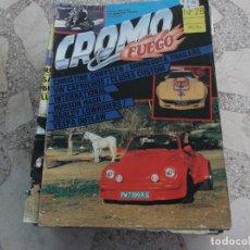 Coches: REVISTA DE COCHES Y MOTOS ,CROMO & FUEGO Nº 28, VER FOTO. Lote 210559833
