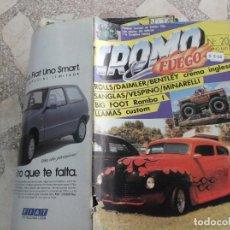 Coches: REVISTA DE COCHES Y MOTOS ,CROMO & FUEGO Nº 20, VER FOTO. Lote 210560078