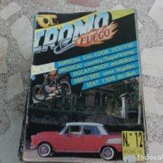 Coches: REVISTA DE COCHES Y MOTOS ,CROMO & FUEGO Nº 12, VER FOTO. Lote 210560238