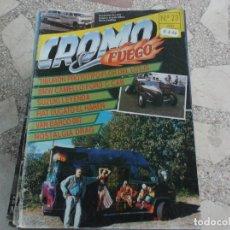 Coches: REVISTA DE COCHES Y MOTOS ,CROMO & FUEGO Nº 23, VER FOTO. Lote 210560296