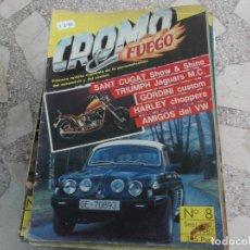 Coches: REVISTA DE COCHES Y MOTOS ,CROMO & FUEGO Nº 8, VER FOTO. Lote 210560892