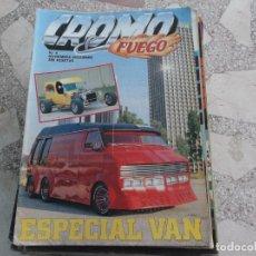 Coches: REVISTA DE COCHES Y MOTOS ,CROMO & FUEGO Nº 4, ESPECIAL VAN. Lote 210561003