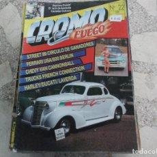 Coches: REVISTA DE COCHES Y MOTOS ,CROMO & FUEGO Nº 22, VER FOTO. Lote 210561298