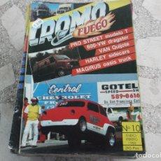 Coches: REVISTA DE COCHES Y MOTOS ,CROMO & FUEGO Nº 10, VER FOTO. Lote 210561466