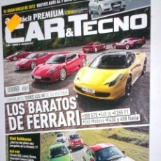 Coches: REVISTA CAR & TECNO Nº74 2011 ,BMW SERIE3,AUDI A4,FERRARIS,MINI COUPE,KIMI,CITROEN DS5,LANCIA THEMA. Lote 210668517