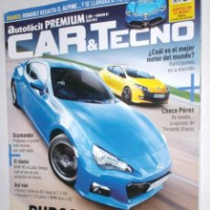 Coches: REVISTA CAR & TECNO Nº81 2012 ALPINE A110-50,CHECO PER,BMW M5,LOTUS OMEGA,SUBARU BRZ,MEGANE RS,MAZDA. Lote 210669724