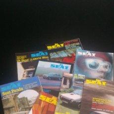 Coches: REVISTA SEAT 1980 (9 NÚMEROS). Lote 211458332