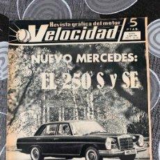 Coches: REVISTA GRAFICA DEL MOTOR VELOCIDAD NUM 205 DE 1965. Lote 211771787