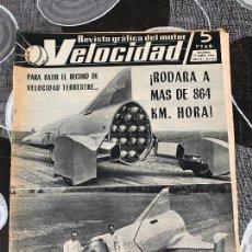 Coches: REVISTA GRAFICA DEL MOTOR VELOCIDAD NUM 211 DE 1965. Lote 211771888