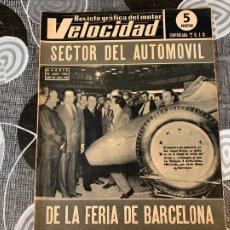 Coches: REVISTA GRAFICA DEL MOTOR VELOCIDAD NUM 242 DE 1966. Lote 211776063