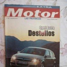 Coches: EXTRA MOTOR - SUPLEMENTO DEL PERIÓDICO LAS PROVINCIAS - Nº 180 - 2004. Lote 211776572