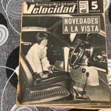 Coches: REVISTA GRAFICA DEL MOTOR VELOCIDAD NUM 311 DE 1967. Lote 211789510
