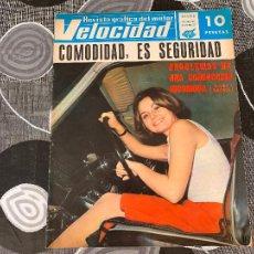 Coches: REVISTA GRAFICA DEL MOTOR VELOCIDAD NUM 327 DE 1967. Lote 211789845