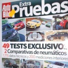 Coches: REVISTA AUTO BILD Nº10 2011 EXTRA PRUEBAS 49 TEST,OPEL,BMW ,TOYOTA,RENAULT,HONDA,MINI,ALFA,VW,AUDI.. Lote 212002403