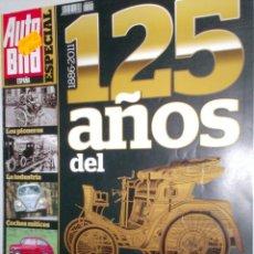 Coches: REVISTA AUTO BILD ESPECIAL 2011 EXTRA 125 AÑOS DEL AUTOMOVIL COCHES MITICOS,PIONEROS,LEYENDAS F-1. Lote 212003318
