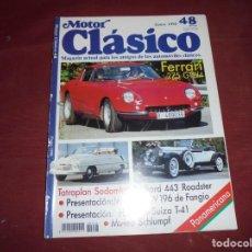 Coches: MAGNIFICAS 93 REVISTAS ANTIGUAS DE MOTOR CLASICO. Lote 213450465