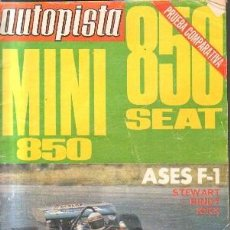 Coches: AUTOPISTA MINI 850 SEAT. A-MOT-342. Lote 213652592