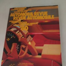 Coches: REVUE AUTOMOBILE 1980. Lote 213888373