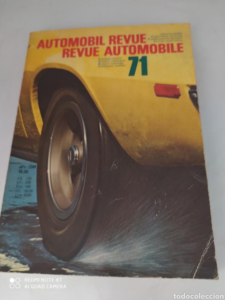 REVUE AUTOMOBILE 1971 (Coches y Motocicletas Antiguas y Clásicas - Revistas de Coches)