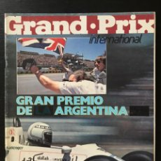 Auto: GRAND PRIX INTERNATIONAL Nº 1 - GRAN PREMIO FORMULA 1 F1 GP 1980 ARGENTINA JONES WILLIAMS RENAULT. Lote 214155160