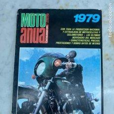 Carros: REVISTA MOTO ANUAL - 1979 - CATALOGO DE VELOCIDAD. Lote 214167660