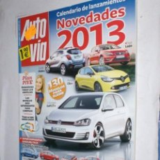 Coches: REVISTA AUTOVIA Nº270 NOVIEMBRE 2012,OPEL MOKKA,SEAT LEON,RENAULT CLIO,GOLF GTI,MEGANE,FOCUS,AUDI A3. Lote 214259715