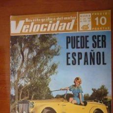 Coches: VELOCIDAD Nº 357 - 1968. Lote 214420407