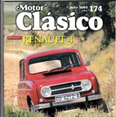 Coches: MOTOR CLASICO Nº 174 RENAULT 4. Lote 214771527