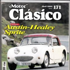 Coches: MOTOR CLASICO Nº 171 AUSTIN HEALEY SPRITE. Lote 214771676