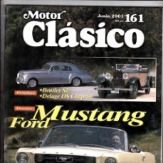 Coches: MOTOR CLASICO Nº 161 MUSTANG FORD. Lote 214863537