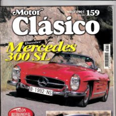 Coches: MOTOR CLASICO Nº 159 MERCEDES 300 SL. Lote 214863622