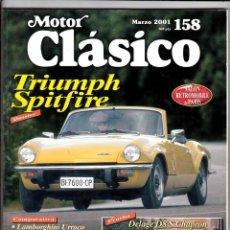 Coches: MOTOR CLASICO Nº 158 TRIUMPH SPITFIRE. Lote 214863722
