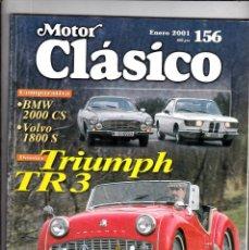 Coches: MOTOR CLASICO Nº 156 TRIUMPH TR 3. Lote 214863775