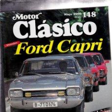 Coches: MOTOR CLASICO Nº 148 FORD CAPRI. Lote 214868930